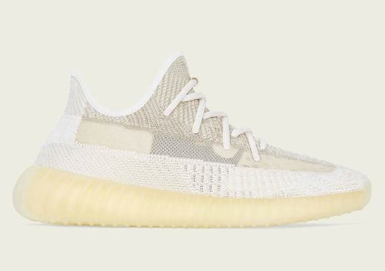 """Official Images Of The adidas Yeezy Boost 350 v2 """"Natural"""""""