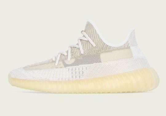 "adidas Officially Announces The Yeezy Boost 350 v2 ""Natural"""