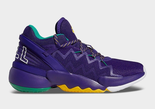 Donovan Mitchell's adidas DON Issue 2 Gets Classic Utah Jazz Colors