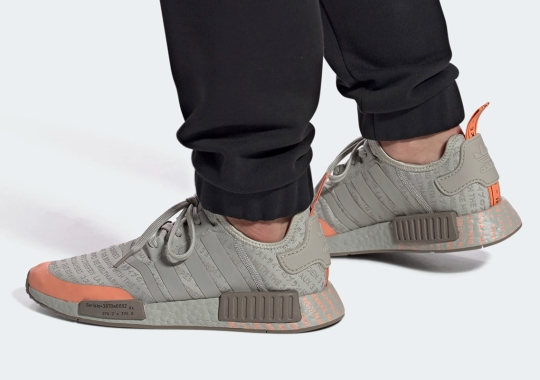 "The adidas NMD R1 ""Terra Cotta"" Comes Covered In Brand Text"