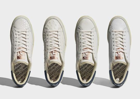 adidas Consortium Dresses The Rod Laver In Four Premium Leather Options