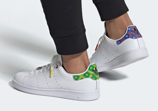 adidas Adds Mismatched Moroccan Tile Patterns To The Stan Smith