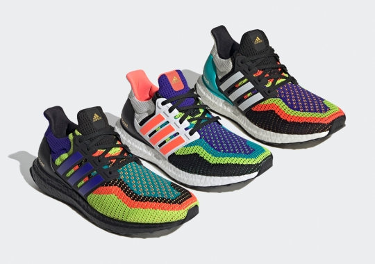 The adidas Ultra Boost DNA Presented In Multi-Colored 2.0 Knits
