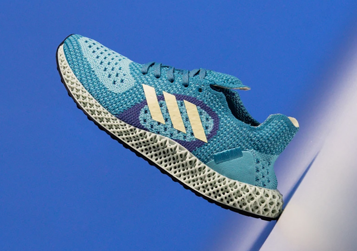 The adidas ZX Carbon Color Blocks Light Aqua Uppers With Yellow Tint Accents