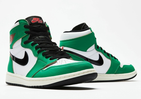 "Where To Buy The Air Jordan 1 Retro High OG ""Lucky Green"""