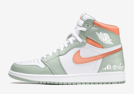 "The Air Jordan 1 Retro High OG ""Seafoam/Healing Orange"" Is Dropping Summer 2021"