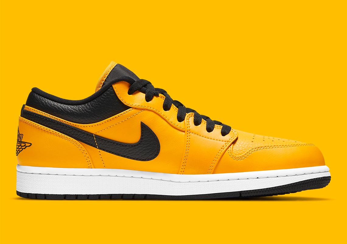 Air Jordan 1 Low University Gold 553558-700 Release | SneakerNews.com