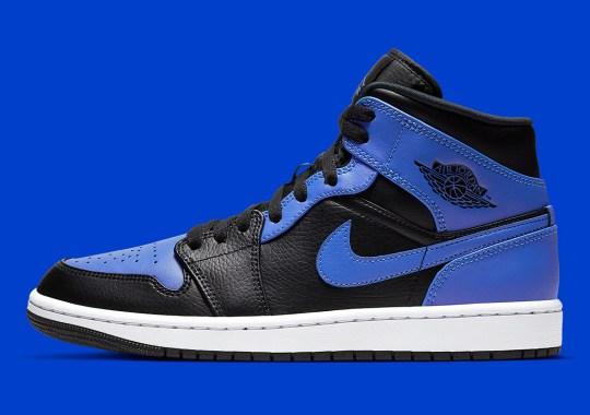 "This Air Jordan 1 Mid Revisits The ""Royal"" Colorway"