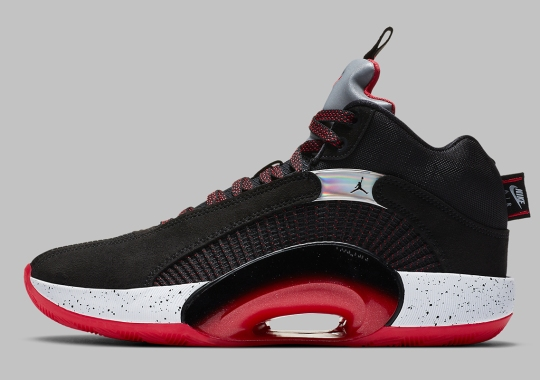 The Air Jordan 35 Suits Up In Classic Bred