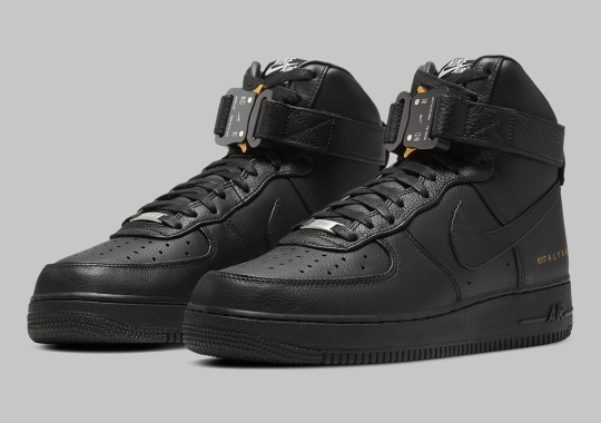 The ALYX Studio x Nike Air Force 1 High Is Releasing On October 24th