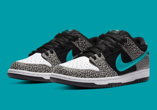 """Official Images Of The Nike SB Dunk Low """"Elephant"""""""