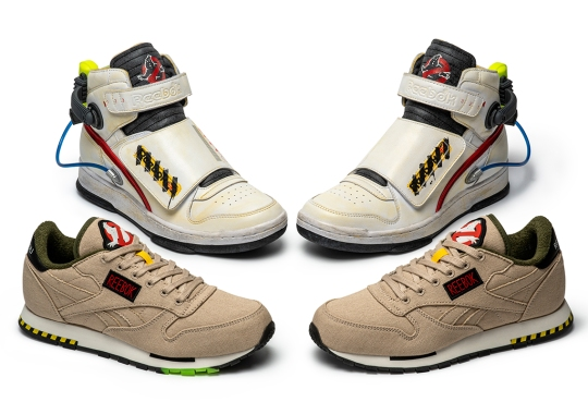 Ghostbusters And Reebok's Ghostsmasher and Classic Leather Collaborations Set For Halloween Release