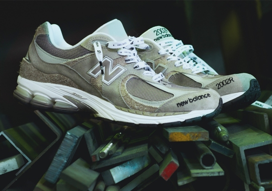 Invincible And N.HOOLYWOOD Reference Past Projects For Their New Balance 2002R