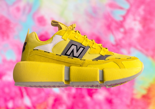 "Jaden Smith's New Balance Vision Racer Is Arriving In ""Sunflower Yellow"""