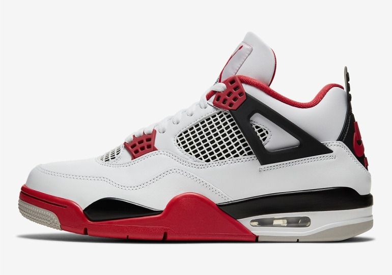 "Air Jordan 4 ""Fire Red"" Shock Drop On Nike SNKRS At 12PM EST"