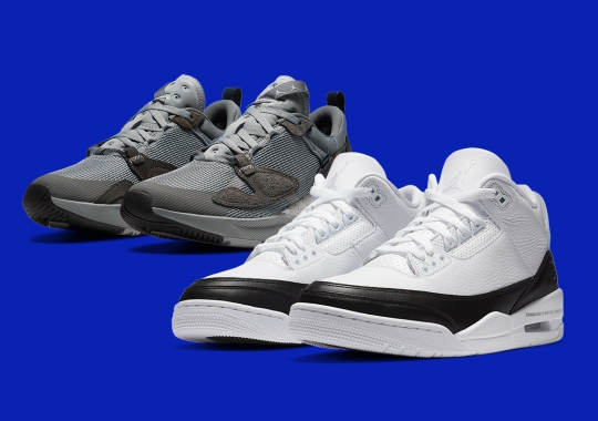 fragment design x Jordan Capsule Releasing In Europe On October 28th
