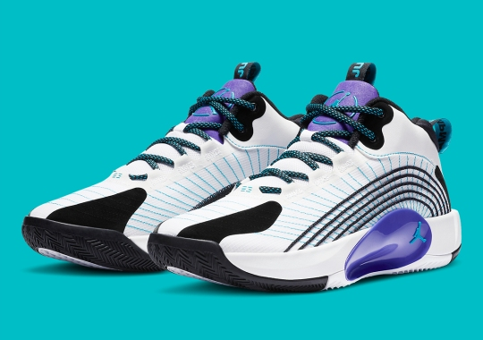 "Jordan Jumpman 2021 PF Borrows The Legendary ""Grape"" Colorway"