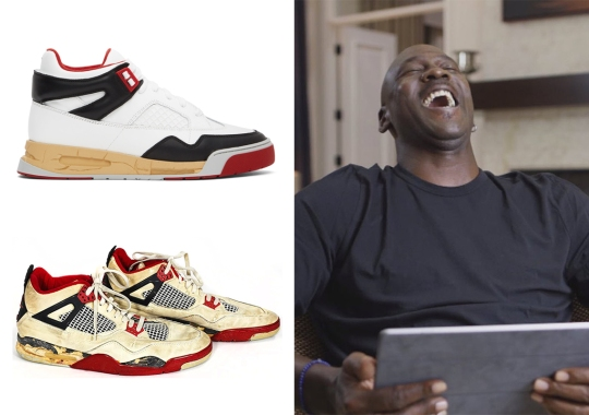 Maison Margiela Goes Overboard With Vintage Obsession With Latest Air Jordan Copycats