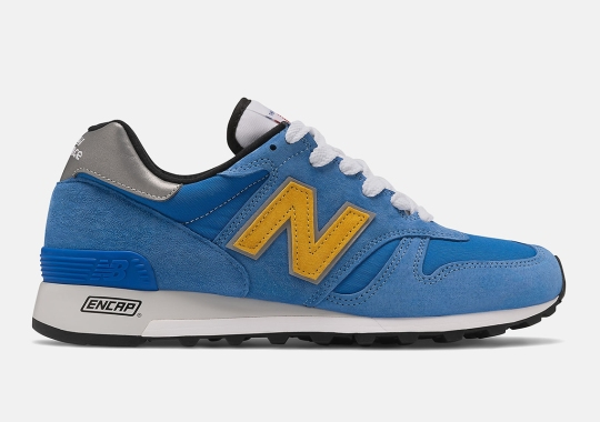 New Balance 1300 In Blue And Atomic Yellow Is Available Now