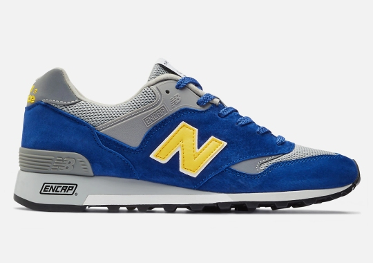 A Warrior Friendly New Balance Made In UK 577 Appears In Supple Suede And Mesh