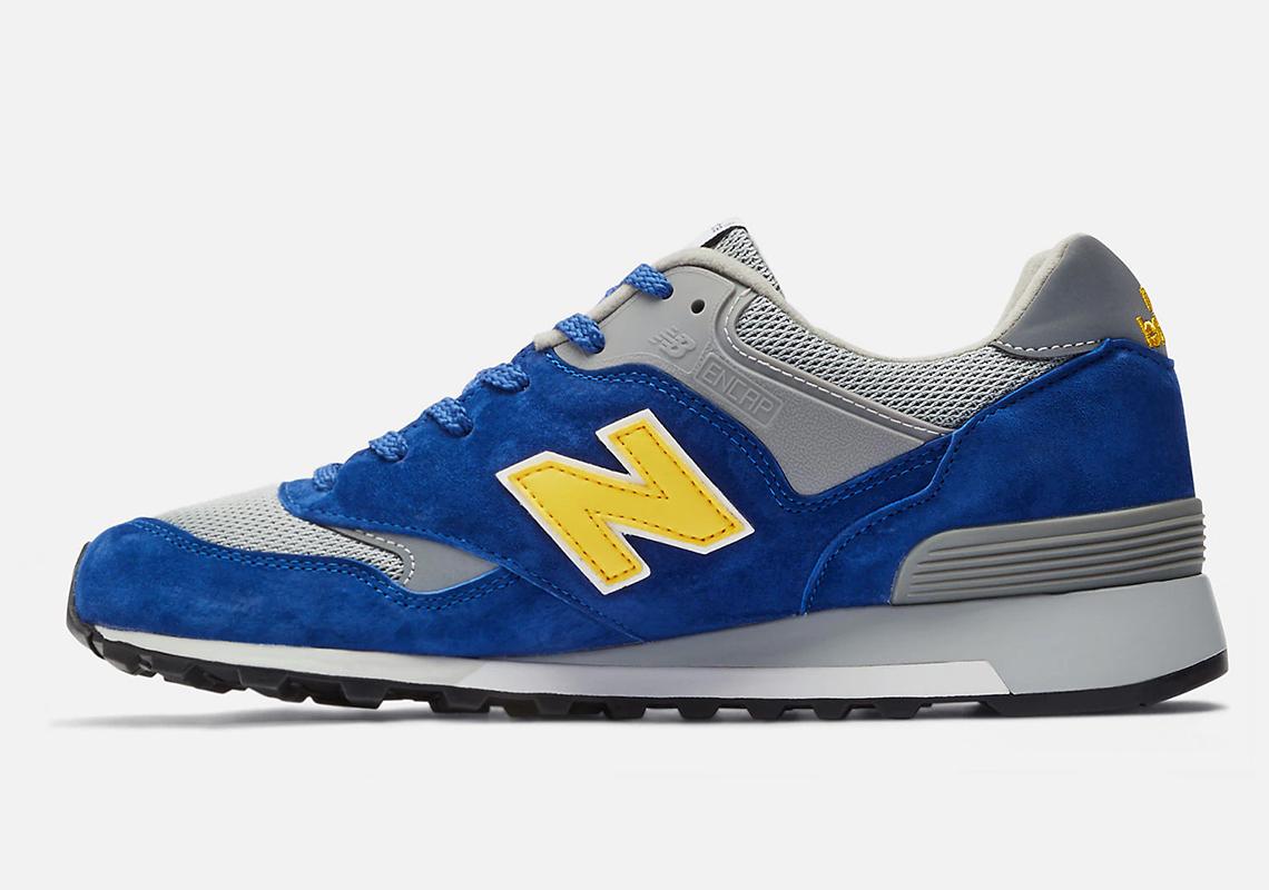 New Balance 577 Blue Yellow - Release