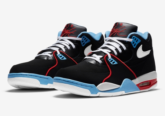 Chicago Flag Colors Appear On The Nike Air Flight '89