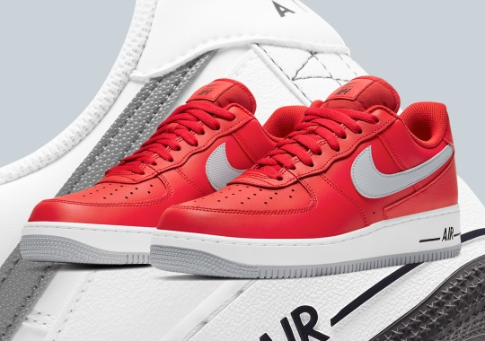 This Nike Air Force 1 Adds Additional Leather Panels At The Heel