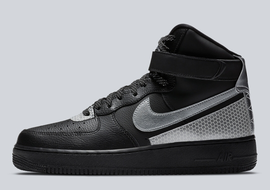 This Black Leather Nike Air Force 1 High Gets 3M Protection