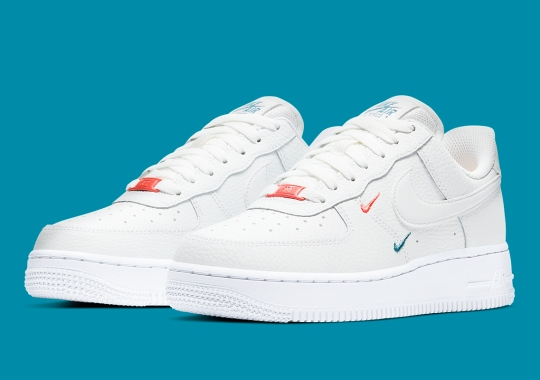 This Double Swooshed Nike Air Force 1 Hit With Miami Colors