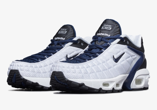 The Nike Air Max Tailwind V SP Will Bring Back The OG White/Navy