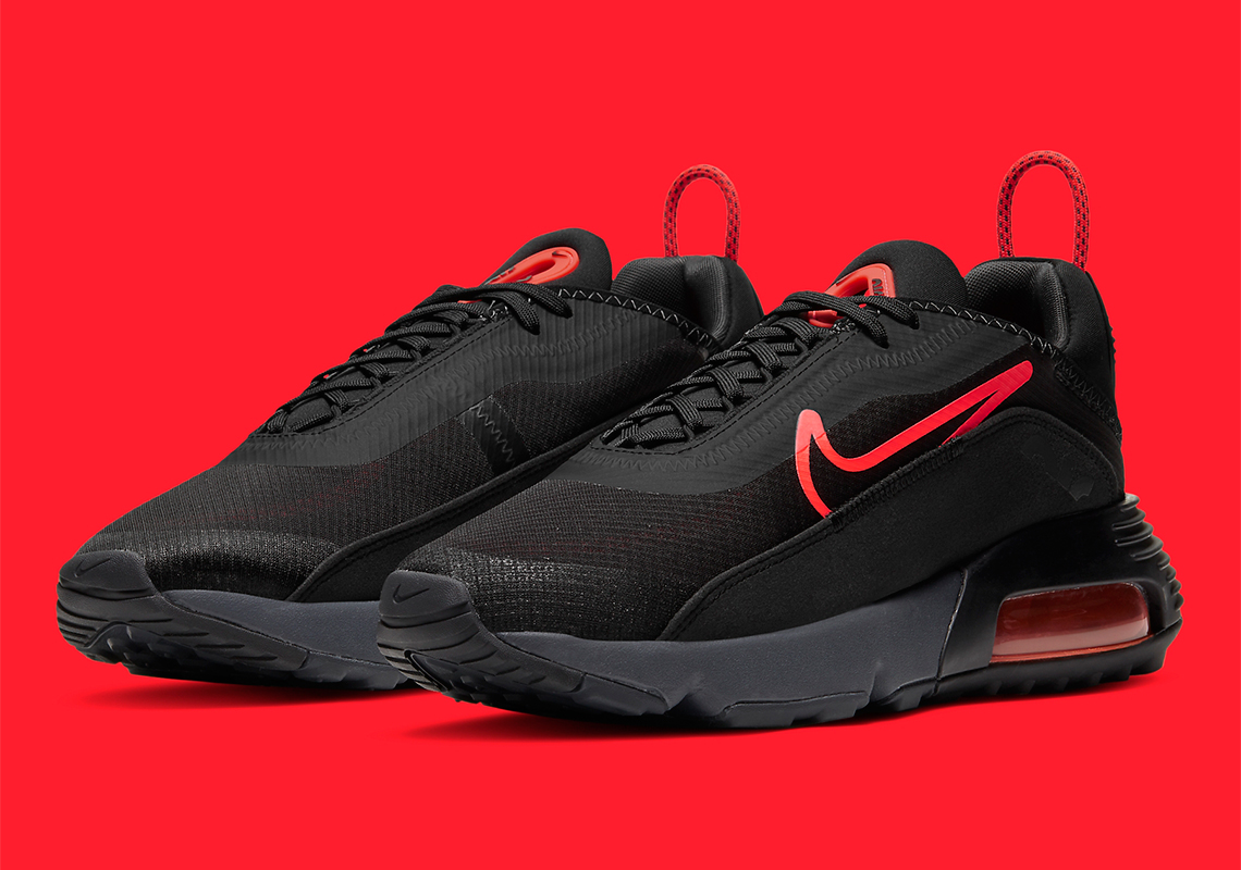 Nike Air Max 2090 Black Radiant Red CT1803-002 | SneakerNews.com