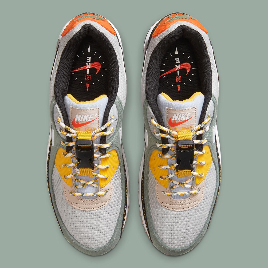 Nike Air Max 90 Grey Green DC2525-300   SneakerNews.com