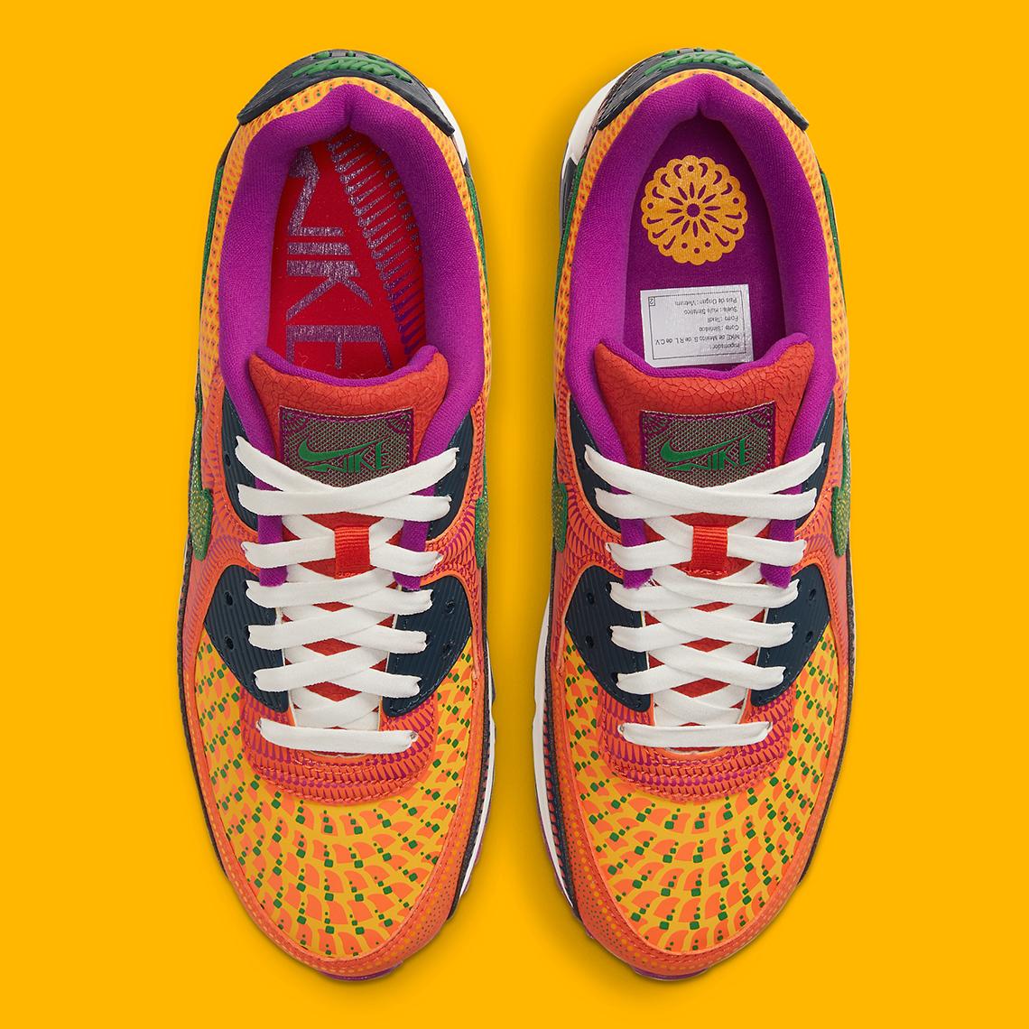 daño proteína Mediador  Nike Air Max 90 Dia de Los Muertos DC5154-458 | SneakerNews.com