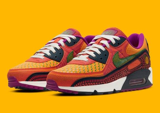 "Official Images Of The Nike Air Max 90 SE ""Dia de Los Muertos"""