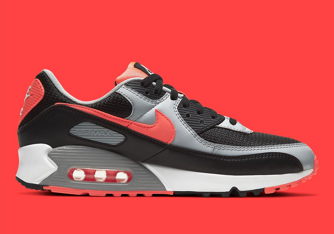Nike Air Max 90 Black Radiant Red CZ4222-001   SneakerNews.com