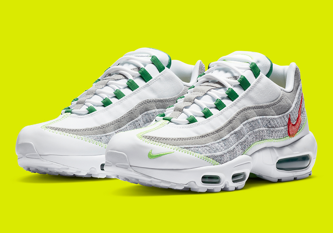 air max lime green 95