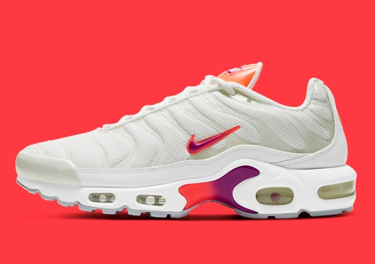 Nike Serves Up The Air Max Plus With White Uppers And Neon Accents