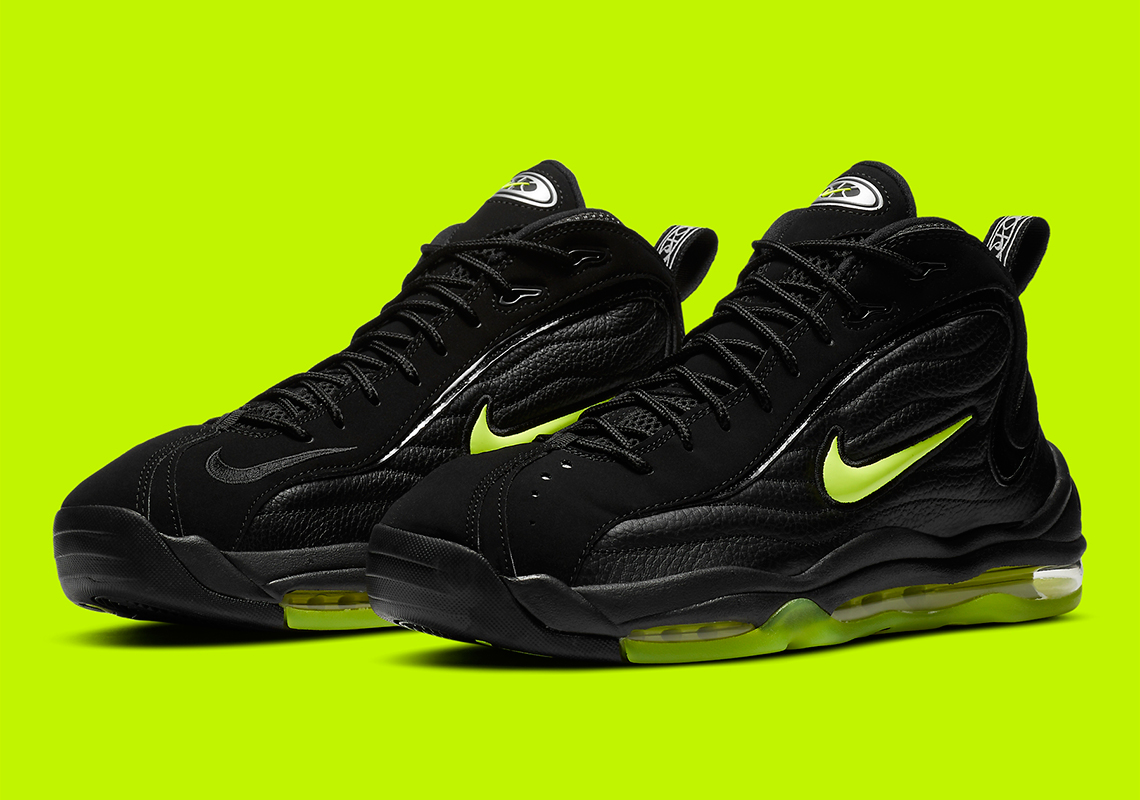 Involucrado Proverbio traductor  Nike Air Total Max Uptempo Black Volt DA2339-001 | SneakerNews.com