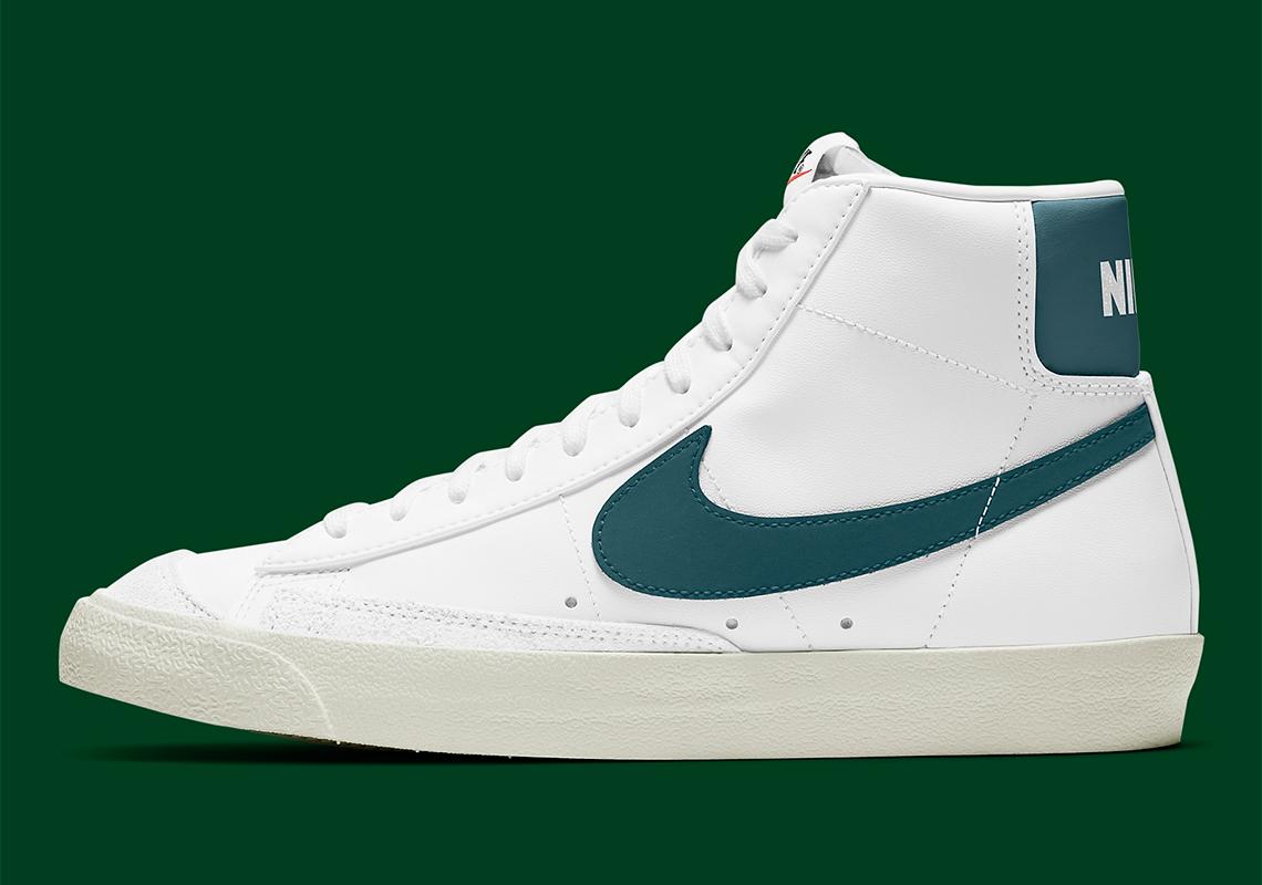 Nike Blazer Mid '77 White Green BQ6806