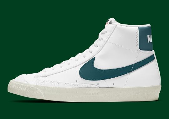 The Nike Blazer Mid '77 Vintage Gets A Classic Hunter Green Accent