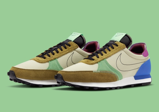 Nike Applies Furry Overlays And Multi-Colored Accents To The Daybreak Type
