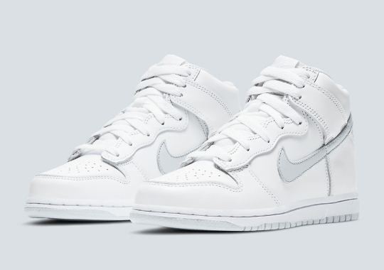 The Nike Dunk High SP Returns In White And Grey On November 13th