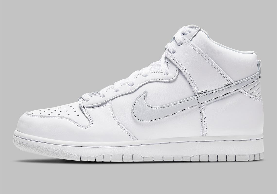 Nike Dunk High White Grey CZ8149-101