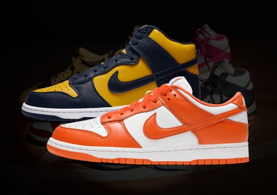 Nike Dunk Low Restocks On Nike SNKRS