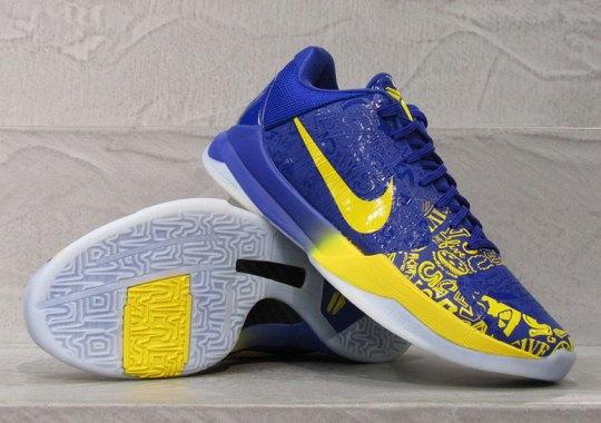"The Nike Kobe 5 Protro ""5 Rings"" Releases Tomorrow"