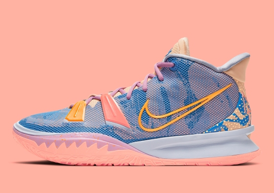 "Kyrie Irving Brings His Love For Art To The Nike Kyrie 7 ""Expressions"""