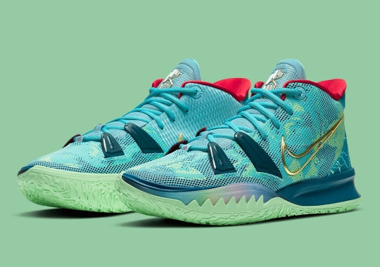 """Kyrie Irving's Love For Film Inspired The Nike Kyrie 7 """"Special FX"""""""