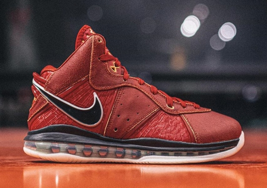 "Nike Unleashes The First Ever LeBron 8 Retro As Part Of China-Exclusive ""Beijing Pack"""