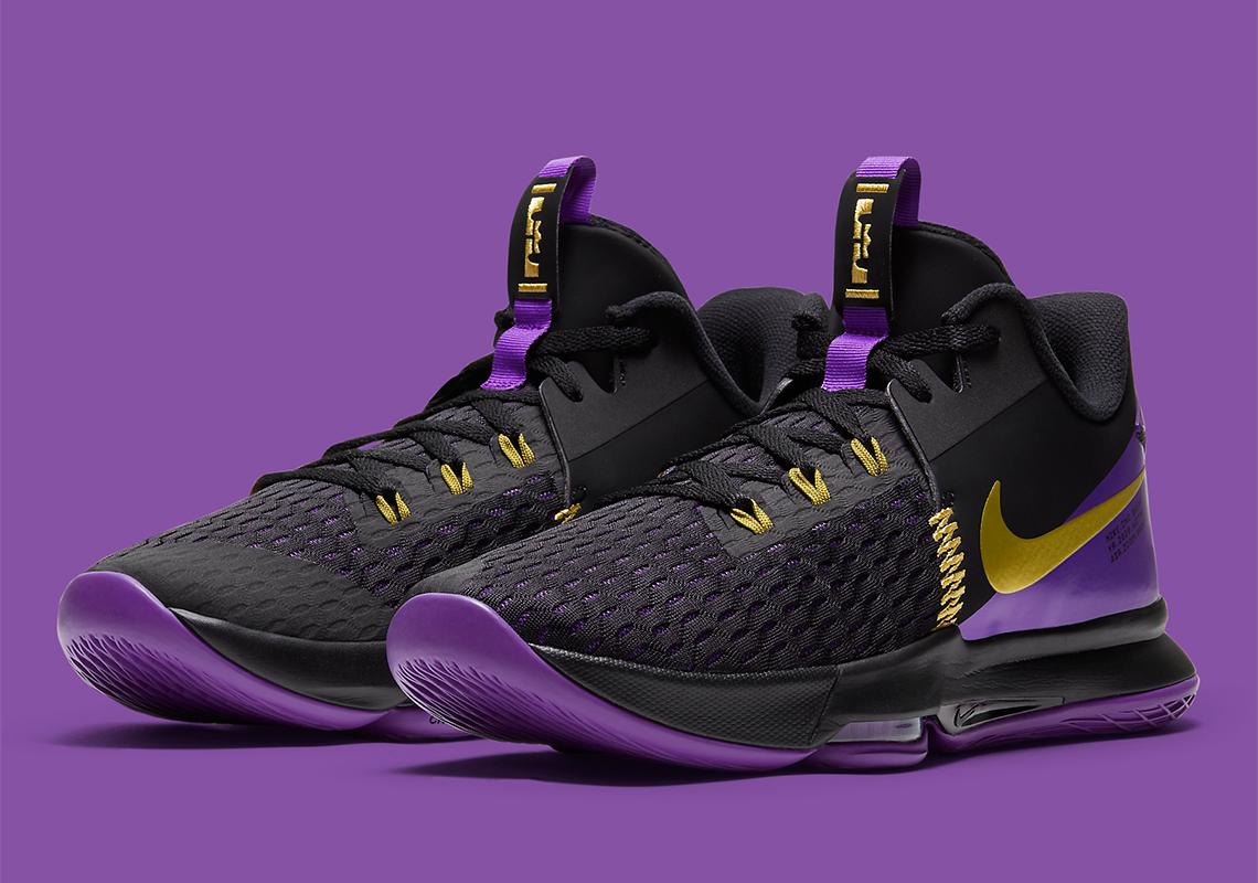Nike LeBron Witness 5 Lakers CQ9381-001