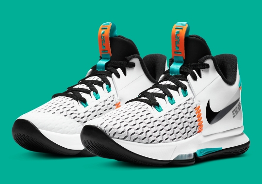 The Nike LeBron Witness V Gets A Miami-Friendly Colorway